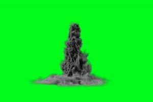 灰尘烟雾 灰尘 黑烟 绿幕视频 绿屏视频 绿幕素材手机特效图片