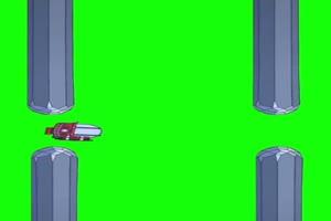 网红潜水艇挑战 游戏 绿幕