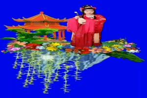 美女 199 仙女 跳舞 巧影抠像 AE抠像 绿幕素材手机特效图片