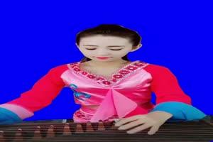 美女弹琴 古筝 古装美女