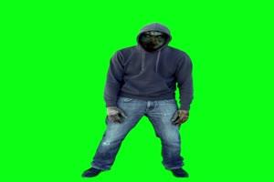 僵尸 丧尸 绿屏抠像 特效素材 23[公众号 texiao8 回