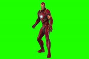 钢铁侠运气 复仇者联盟 绿幕素材 绿屏抠像 特效手机特效图片