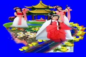 美女 172 仙女 跳舞 巧影抠像 AE抠像 绿幕素材手机特效图片