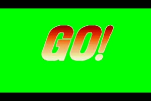 拳皇 街机对战 Round1 2 3 Ready go回合1-3 绿幕抠像