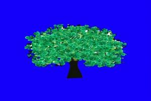 花素材 花枝素材 树素材 巧影绿幕素材 古风素材手机特效图片