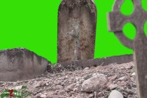 僵尸 丧尸 绿屏抠像 特效素材 1[公众号 texiao8 回
