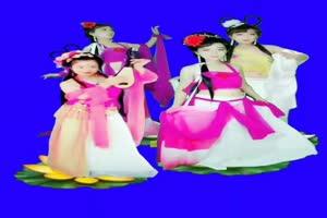 美女 159 仙女 跳舞 巧影抠像 AE抠像 绿幕素材手机特效图片