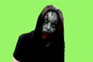 僵尸 丧尸 绿屏抠像 特效素材 15[公众号 texiao8 回