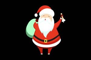 卡通圣诞老人3 圣诞节 抠