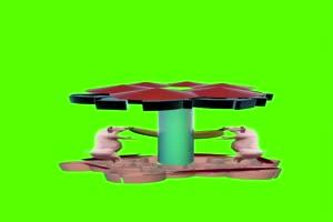 猪 绿幕视频 绿屏视频 绿幕素材 特效牛手机特效图片