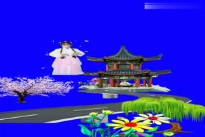 美女 196 仙女 跳舞 巧影抠像 AE抠像 绿幕素材手机特效图片