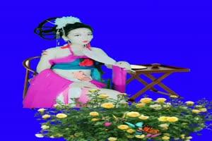 美女 138 仙女 跳舞 巧影抠像 AE抠像 绿幕素材手机特效图片