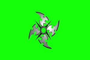 飞镖 忍者武器 绿幕抠像 特效素材 @特效牛手机特效图片
