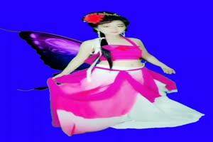 美女 154 仙女 跳舞 巧影抠像 AE抠像 绿幕素材手机特效图片