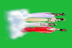 仙女 美女在云上跳舞手机特效图片