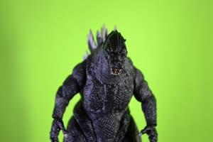 哥斯拉绿幕视频 怪兽恐龙 变异生物 12手机特效图片