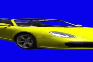 汽车素材 绿幕抠像把自己放跑车里,然后载上美手机特效图片
