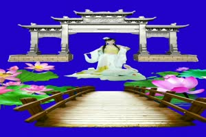 美女 125 仙女 跳舞 巧影抠像 AE抠像 绿幕素材手机特效图片