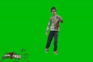 僵尸 丧尸 绿屏抠像 特效素材 4[公众号 texiao8 回