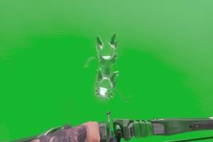守望先锋6 半藏龙 特效抠像 绿屏抠像视频手机特效图片
