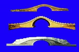 绿幕桥 桥绿幕 绿幕素材手机特效图片