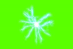 闪电球 电光 激光 3 火影忍者 特效绿屏 抠像素材手机特效图片