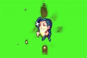 金克斯英雄联盟哈哈哈图标 音效绿幕素材包 绿幕手机特效图片