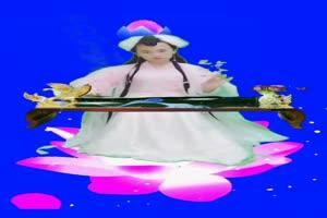 美女 103 仙女 跳舞 巧影抠像 AE抠像 绿幕素材手机特效图片