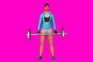 侠盗猎车手 GTA5 女人健身 3