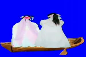 美女 150 仙女 跳舞 巧影抠像 AE抠像 绿幕素材手机特效图片