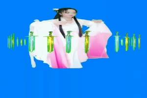 美女万箭齐发 绿幕素材 巧影素材 特效抠像素材手机特效图片