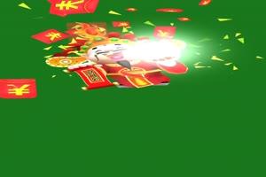 卡通财神过年喜庆 绿幕抠像 特效素材 @特效牛手机特效图片