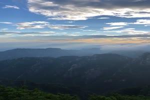 航拍山峰 山丛 手机竖版视频 风景航拍 山水 山峰手机特效图片