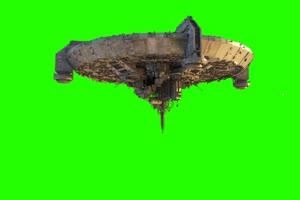 外星飞船 UFO 外星人电影 3 飞机 绿屏绿幕 抠像素