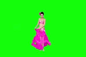 古装美女 清晰度较低 慎用绿布和绿幕视频抠像素材