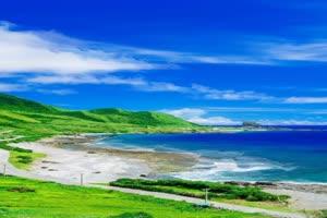 手机专用  大海沙滩 美景视频素材71手机特效图片
