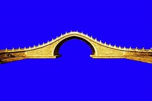 绿幕桥 桥绿幕 绿幕素材  石拱桥手机特效图片