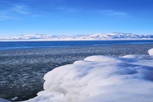 免费雪山 冰湖 手机竖版视频 风景航拍 山水 山峰手机特效图片
