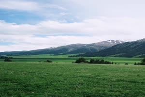 手机专用 草原蓝天 剪映唯美风景背景视频手机特效图片