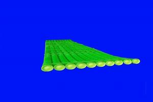免费绿幕竹排 竹排 绿幕素材 古风素材 巧影绿幕手机特效图片