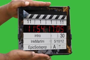 场记打板 拍电影咔 Cut 序幕答案 1 绿幕视频 抠像手机特效图片