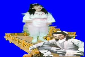 美女 157 仙女 跳舞 巧影抠像 AE抠像 绿幕素材手机特效图片