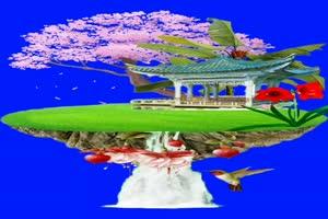 美女 92 仙女 跳舞 巧影抠像 AE抠像 绿幕素材手机特效图片