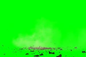 崩裂 爆炸 绿幕视频 绿屏视频 绿幕素材 特效牛手机特效图片