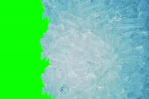 结冰素材 绿幕抠像 特效素材 @特效牛手机特效图片