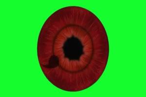 写轮眼 4 火影忍者 特效绿屏 抠像素材