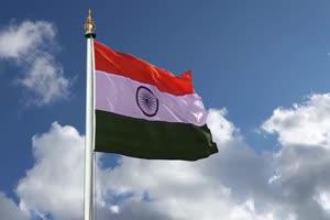 印度 国旗绿幕后期抠像视频特效素材@特效牛免费手机特效图片