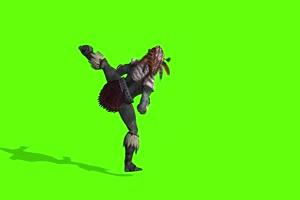 阿兹特克人 人物视频 绿幕抠像 特效视频 巧影剪手机特效图片