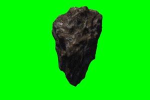 陨石1 旋转 绿屏抠像 特效素材手机特效图片