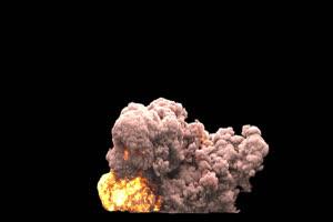真实火焰爆炸 带通道 超清影视特效 抠像视频 抠手机特效图片